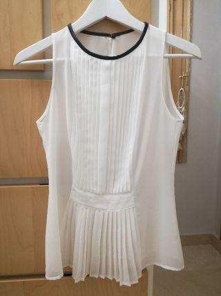 Blusa blanca Zara