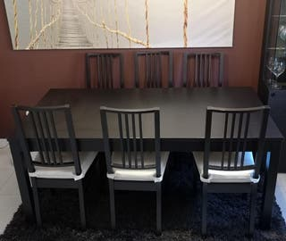 MESAS Y SILLAS IKEA