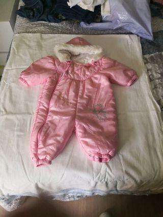 polar para bebé niña, talla 6 meses