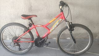 Bicicleta infantil MTB orbea BTT montaña niño 24