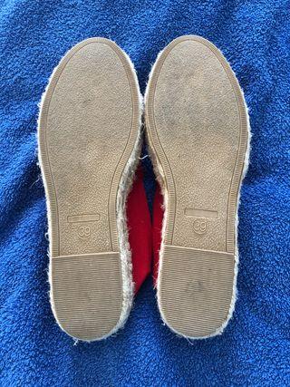 Zapatillas espardeñas Springfield