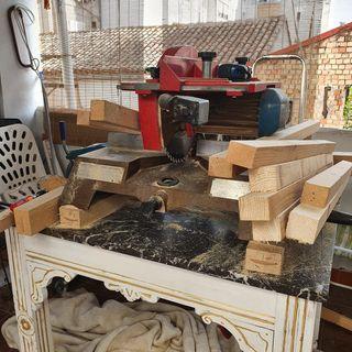 Sierra circular corte madera/ ingletadora