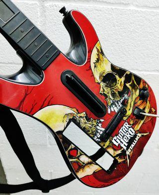 Guitarra GUITAR HERO METALLICA Wii