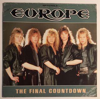 EUROPE The Final Countdown Disco Vinilo Maxi