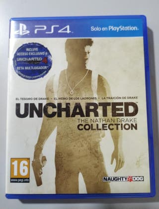 PS4 UNCHATED COLLECTION