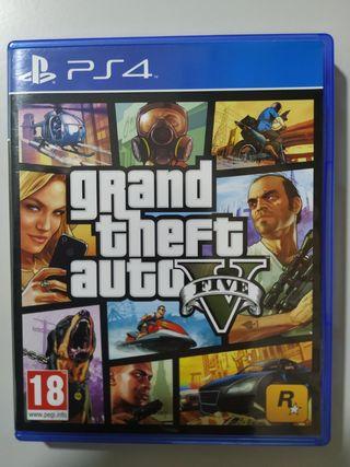PS4 Gran Theft Auto V