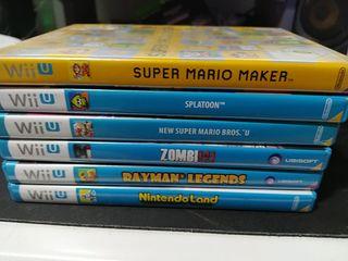Pack 6 juegos Wii U
