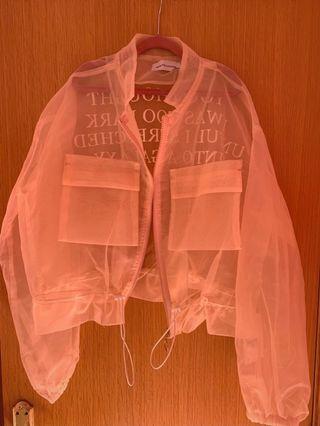 Bomber transparente