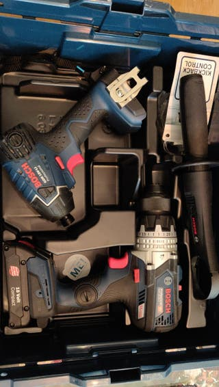 Bosch professional Taladro percutor+Atornillador