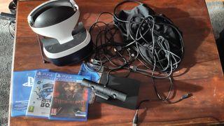 Gafas VR ps4 + juegos
