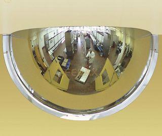 Espejo de vigilancia hemisférico de 3 direcciones