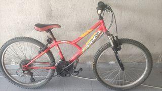 Bicicleta infantil MTB orbea BTT niño 24 pulgadas