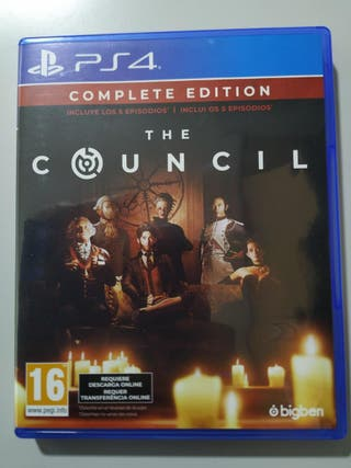 PS4 THE COUNCIL