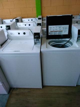 Secadoras y lavadoras industriales.