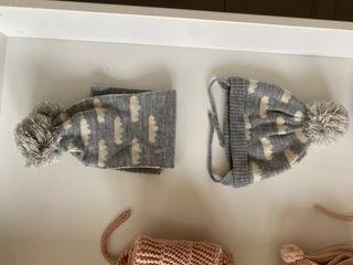 Gorros manoplas, bufandas y cuellos unisex