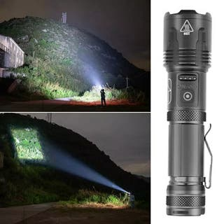 Linterna Potente XHP100 9 núcleos Led recargable