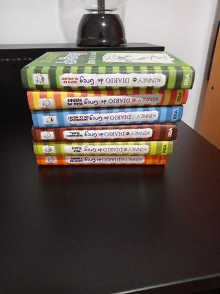 """Pack de libros """"El diario de Greg"""""""