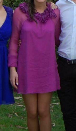 Vestido de fiesta de gasa