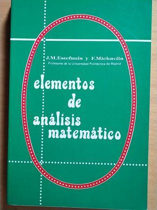 Elementos de análisis matemático