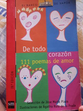 De todo corazon 111 poemas de amor