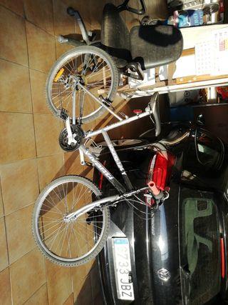 bicicleta urbana tamaño cadete