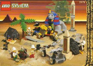 Lego 5978 El secreto de la esfinge