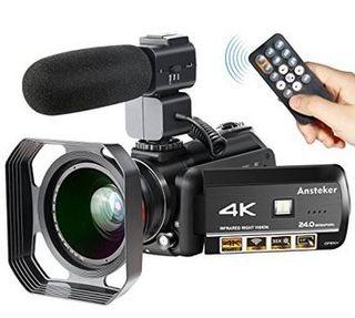 Videocámara 4K WiFi Ansteker NUEVA