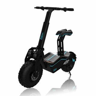 Scooter eléctrico, patín urbano.