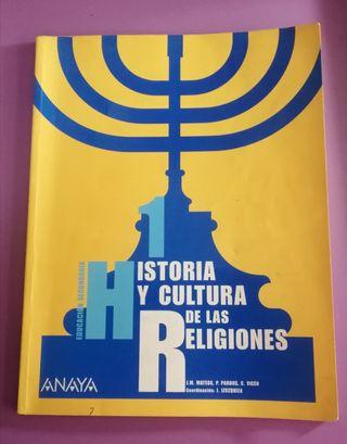 Historia y cultura de las religiones