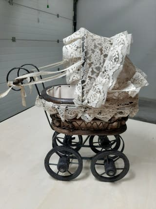 carrito de bebe antiguo