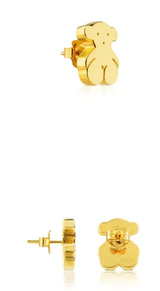 Pendientes de Oro Tous.