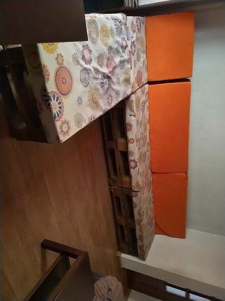 Sofá de 3 metros palet