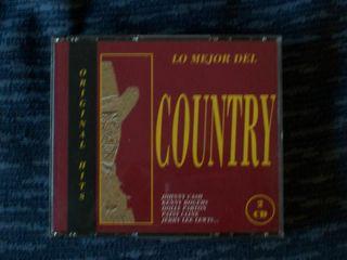 Lo Mejor del Country, doble CD, perfecto estado