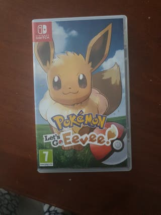 Pokemon Let's Go! Eevee!  Nintendo Switch