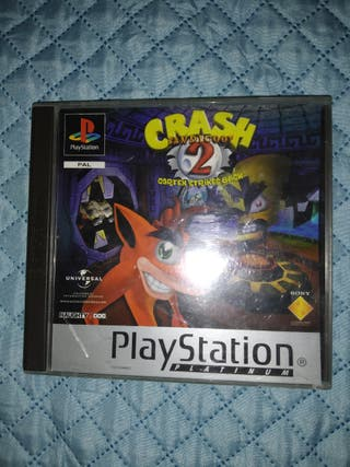 crash bandicoot 2 ps1 COMO NUEVO