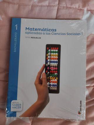 Matemáticas 1°Bachillerato Ciencias Sociales
