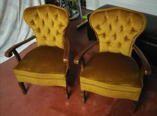 sillas descalzadora vintage siglo 20