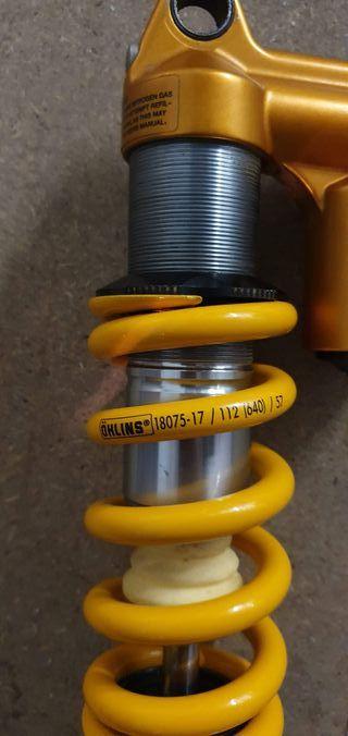 Amortiguador Öhlins TTX 22M 210x55