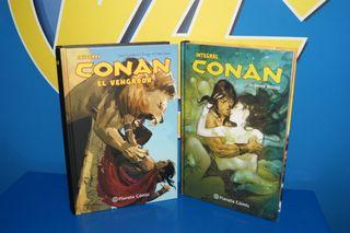 Lote 2 comics integral CONAN Y CONAN EL VENGADOR