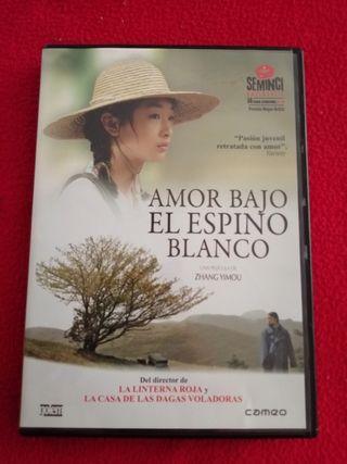 dvd el amor bajo el espino blanco