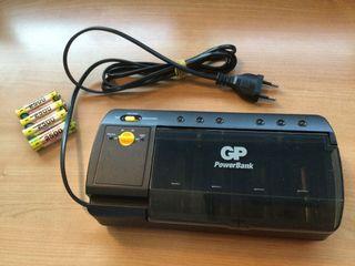 Cargador de pilas recargables Power Bank GP