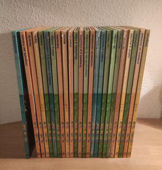 Colección de libros + cds planeta hello hoobs
