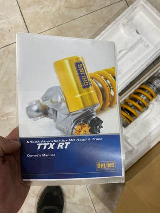 AMORTIGUADOR TASERO OHLINS TTX CBR 1000 rr