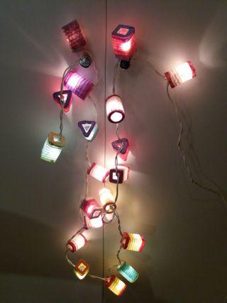 Luces de navidad 220v