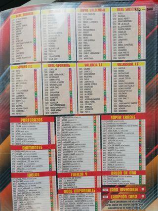 Colección cromos Adrenalyn liga 2015-2016
