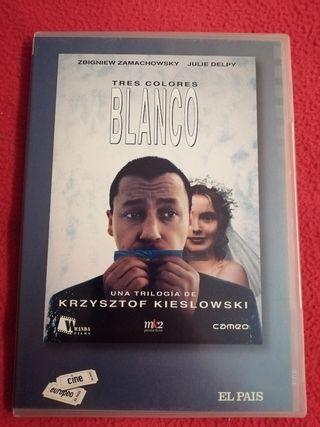 dvd tres colores Blanco - kieslowski