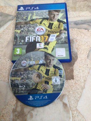 Juego PS4 FIFA17