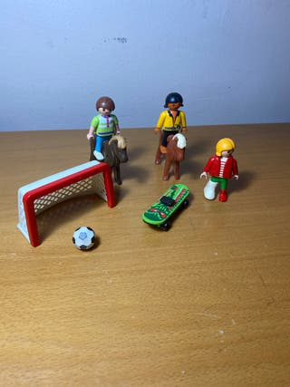 Playmobil niños