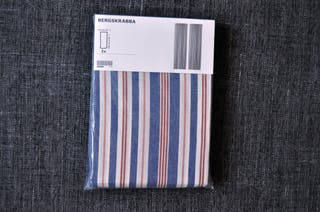 Cortinas de rayas IKEA (A ESTRENAR)