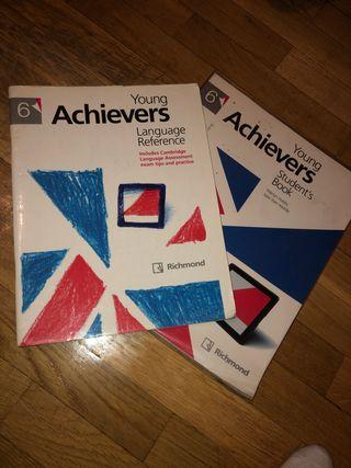 Libro inglés Young Achievers Richmond 6º Primaria